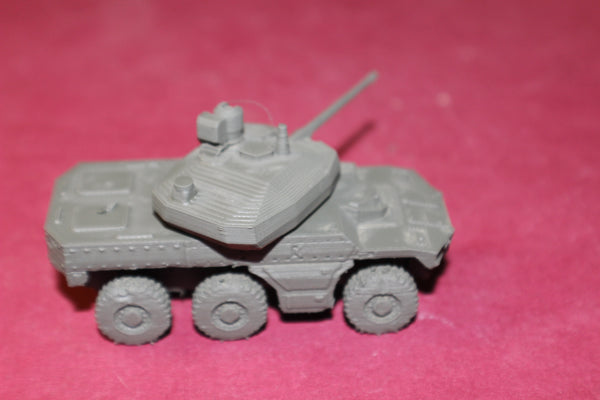 1-87TH SCALE 3D PRINTED FRENCH JAGUAR LIGHT RECON VEHICLE