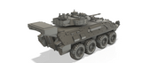 1-43RD SCALE 3D PRINTED WAR IN AFGHANISTAN U.S. ARMY LAV III LIGHT ARMORED VEHICLE
