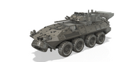 1-72ND SCALE 3D PRINTED WAR IN AFGHANISTAN U.S. ARMY LAV III LIGHT ARMORED VEHICLE
