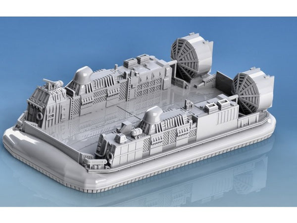 1-87TH SCALE 3D PRINTED U.S. NAVY LCAC LANDING CRAFT AIR CUSHION HOVERCRAFT