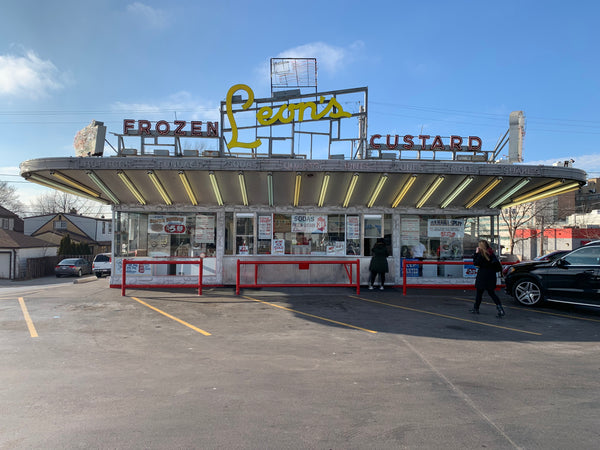 1-87TH HO SCALE 3D PRINTED LEON'S CUSTARD STAND