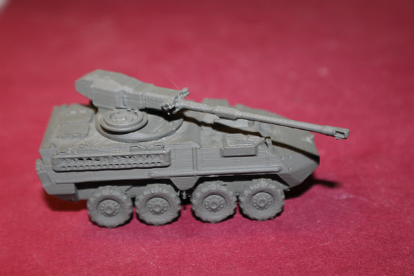 1-87TH SCALE 3D PRINTED U.S. ARMY STRYKER M1128 MOBILE GUN SYSTEM