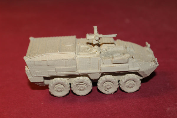 1-87 SCALE 3D PRINTED U.S. ARMY STRYKER M1133 MEDICAL EVACUATION VEHICLE