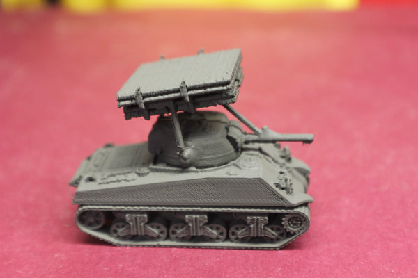1-87TH SCALE 3D PRINTED WW II U.S. ARMY M4A3 SHERMAN CALLIOPE KIT
