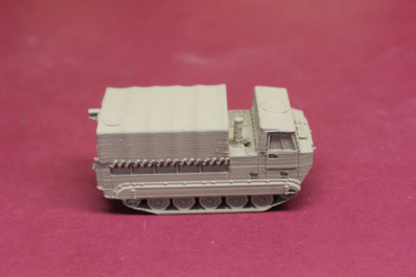 1-87TH SCALE 3D PRINTED GULF WAR U.S. ARMY M548 COVERED W/SKIRTS