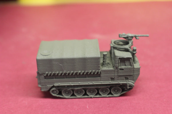 1-87TH SCALE 3D PRINTED VIETNAM WAR U.S. ARMY M548 COVERED W/MG