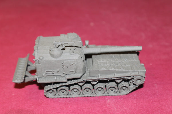1-72ND SCALE 3D PRINTED U.S. ARMY M 55 SELF PROPELLED HOWITZER