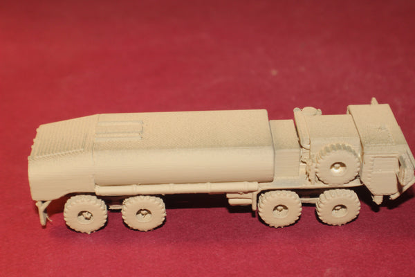 1/87TH SCALE 3D PRINTED U S ARMY M977 HEMTT A4 FUEL SERVICING TRUCK