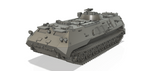 1-72ND 3D PRINTED COLD WAR SOVIET MT-LBU  MULTI-PURPOSE FULLY AMPHIBIOUS ARMOURED CARRIER