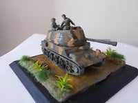 1/87TH SCALE  3D PRINTED WW II HUNGARIAN ARMY 40MM NIMRÓD SELF PROPELLED ANTI-TANK GUN