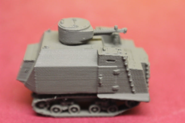 1-87TH SCALE 3D PRINTED WWII RUSSIAN ODESSA NI 6 TANK TYPE 2