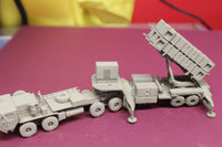 1-72ND SCALE 3D PRINTED U.S. ARMY MIM 104 PATRIOT MISSILE SYSTEM IN LAUNCH POSITION