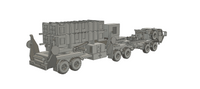 1/50TH SCALE 3D PRINTED U.S. ARMY MIM 104 PATRIOT MISSILE SYSTEM IN TRAVEL POSITION