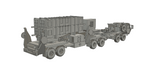 1-72ND SCALE 3D PRINTED U.S. ARMY MIM 104 PATRIOT MISSILE SYSTEM IN TRAVEL POSITION
