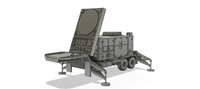 1-72ND SCALE 3D PRINTED U.S. ARMY MIM 104 PATRIOT MISSILE SYSTEM
