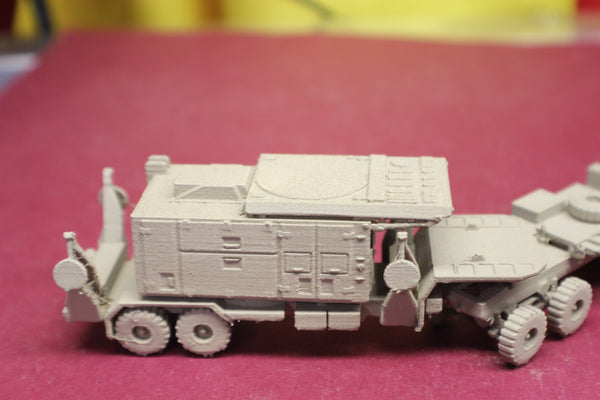 1-72ND SCALE 3D PRINTED U.S. ARMY MIM 104 PATRIOT MISSILE SYSTEM PATRIOT MISSILE SYSTEM AN/MPQ-53 RADAR RETRACTED