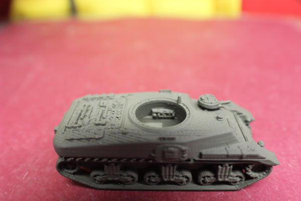 1-72ND SCALE 3D PRINTED WWII CANADIAN RAM KANGAROO WITH MG TURRET