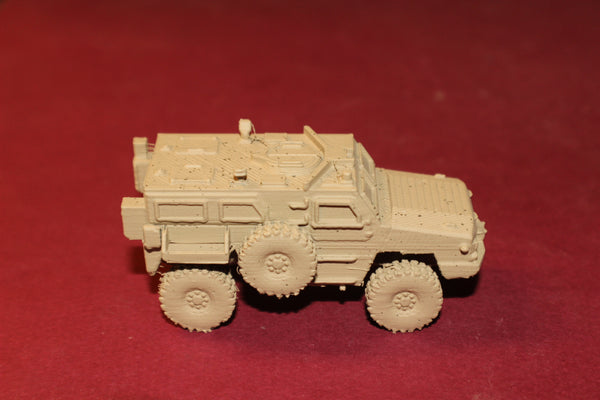 1-87TH SCALE 3D PRINTED U.S. ARMY RG-33 MRAP ARMORED VEHICLE