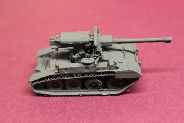 1-87TH SCALE 3D PRINTED VIETNAM WAR U.S. ARMY M56 SCORPION  76mm L23A1 GUN