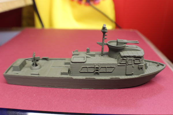 1-87TH SCALE 3D PRINTED VIETNAM WAR  U.S.NAVY SWIFT BOAT Patrol Craft Fast (PCF)