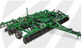 1-87TH HO SCALE 3D PRINTED GREAT PLAINS TURBO TILLER