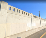 1-160TH N SCALE 3D PRINT LOS ANGELUS UNION STATION WALL SECTION