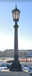 1-160TH N SCALE 3D PRINT LOS ANGELES UNION STATION STREET LAMPPOST