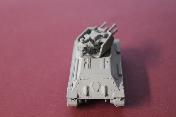 1-87TH SCALE 3D PRINTED WWII GERMAN T-34 FLAKPANZER