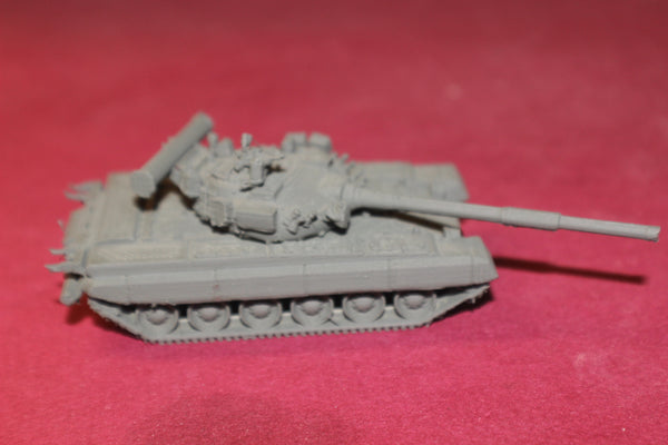 1/72ND SCALE  3D PRINTED  RUSSIAN T-80  3RD GENERATION MAIN BATTLE TANK