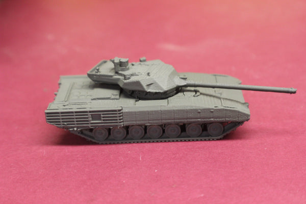 1-87TH SCALE 3D PRINTED RUSSIAN T14 ARMATA MAIN BATTLE TANK
