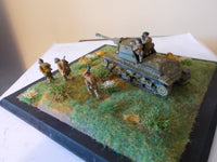 1/72ND SCALE  3D PRINTED WW II GERMAN CAPTURED ROMANIAN TACAM R-2 ANTI TANK DESTROYER