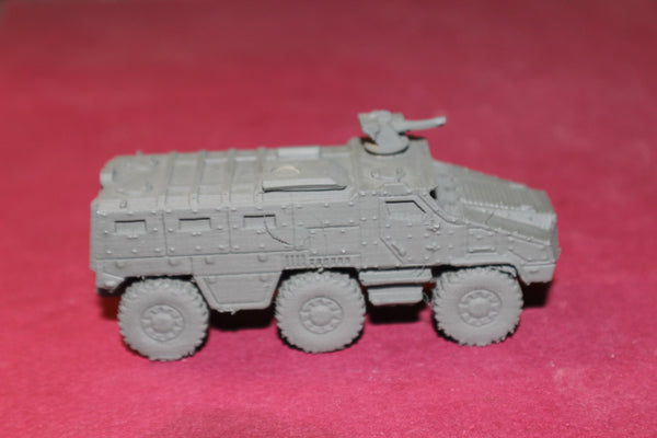 1-87TH SCALE 3D PRINTED FRENCH NEXTER TITUS 6X6 ARMORED PERSONNEL CARRIER