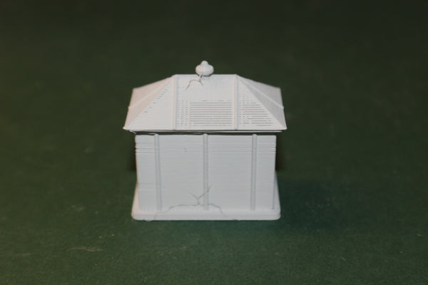HO SCALE 3D PRINTED TRACKSIDE ELECTRICAL CONTROL BOX SMALL