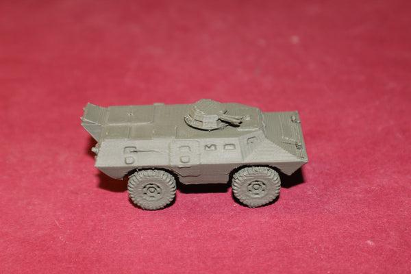 1-72ND SCALE 3D PRINTED V100 CADILLAC GAGE COMMANDO ARMORED CAR