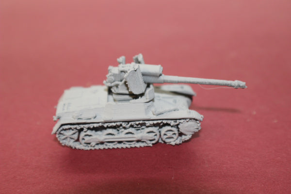 1-87TH SCALE 3D PRINTED WWII GERMAN PANZERJAGER TANK HUNTER