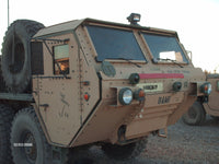 1/56TH SCALE 3D PRINTED IRAQ WAR U.S. ARMY M984 HEMTT WRECKER WITH TOWED HUMVEE