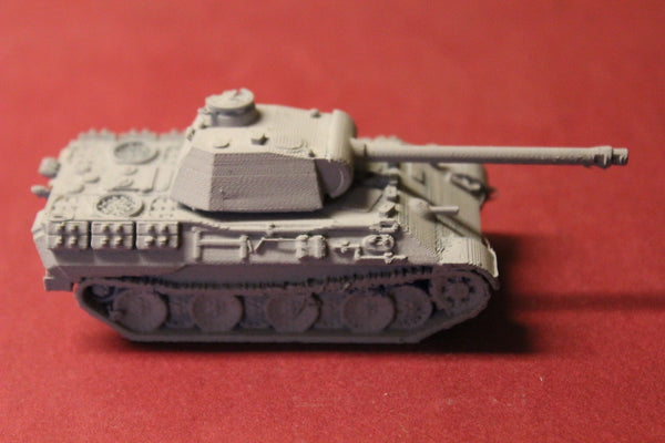 1/87TH SCALE  3D PRINTED WW II GERMAN PANZERKAMPFWAGEN V PANTHER A1