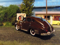 HO SCALE 1946 PONTIAC STREAMLINE RESIN KIT