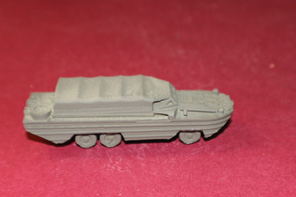 1/72ND SCALE  3D PRINTED WW II U. S. ARMY DUKW SIX-WHEELDRIVE AMPHIBIOUS VEHICLE