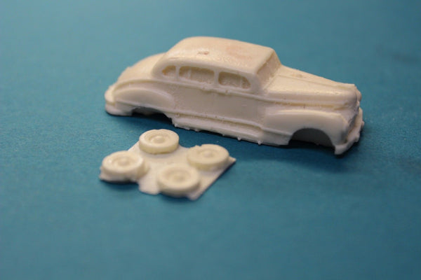 HO SCALE 1946 HUDSON COMMODORE RESIN KIT