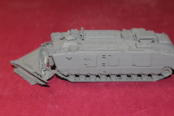 1/72ND SCALE  3D PRINTED VIETNAM U S MARINE CORP LVTE MINE SWEEPER PLOW DOWN