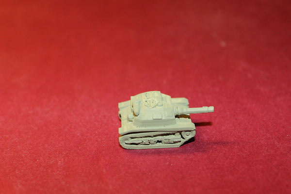 WW II POLISH TKS TANKETTE WITH 20 MM GUN
