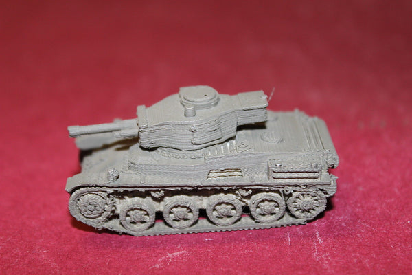 1/87TH SCALE 3D PRINTED  WW II HUNGARIAN TOLDI II WITH 40 MM GUN