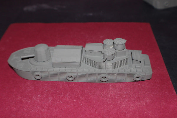 1/87TH SCALE  3D PRINTED VIETNAM WAR U S NAVY MOBILE RIVERINE FORCE RIVER MONITOR