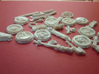 STEAM LOCOMOTIVE SCRAP RESIN 25 PIECES