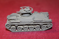 1/87TH SCALE 3D PRINTED  WW II JAPANESE TYPE 97 CHI-HA MEDIUM TANK 57MM OPEN VENT
