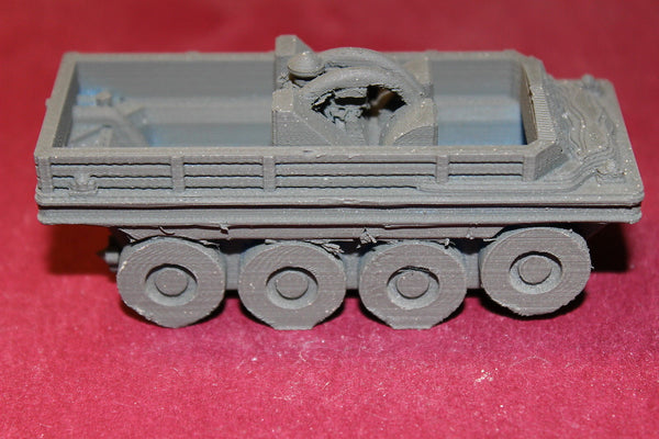 WW II BRITISH TERRAPIN AMPHIBIOUS ARMOURED TRANSPORT