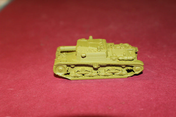 1/87TH SCALE  3D PRINTED WW II ITALIAN SEMOVENTE M41 DA 75-18 SELF PROPELLED GUN