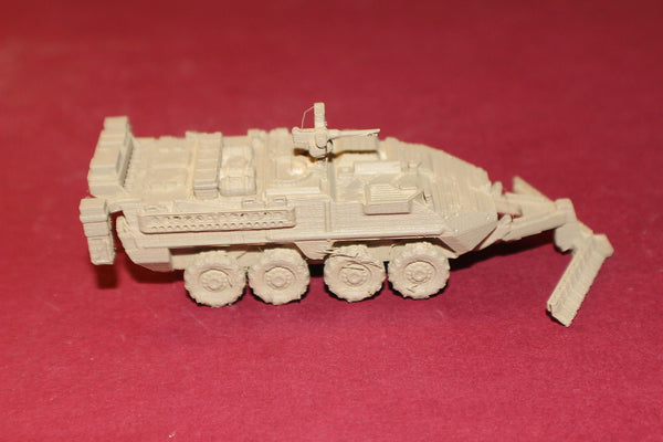 1-87TH SCALE 3D PRINTED AFGANISTAN WAR U S ARMY M1132 ENGINEER SQUAD VEHICLE STRYKER