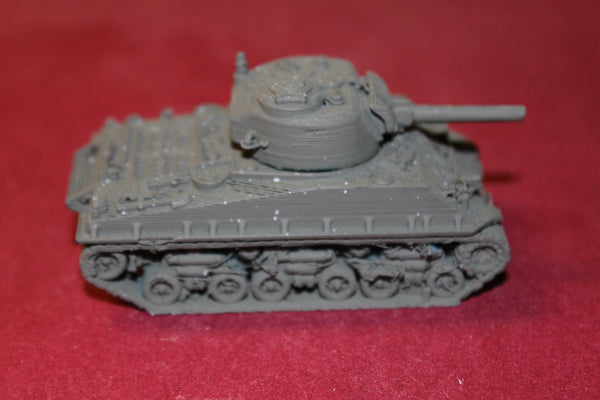 1/87TH SCALE 3D PRINTED WW II U. S. ARMY M4A3E2 JUMBO SHERMAN